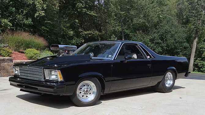 1979 Chevrolet El Camino 454 Ci Automatic Presented As Lot
