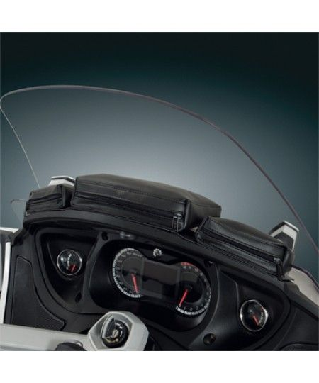 Three Pocket Dash Pouch For Spyder Rt H41 154bk Can Am