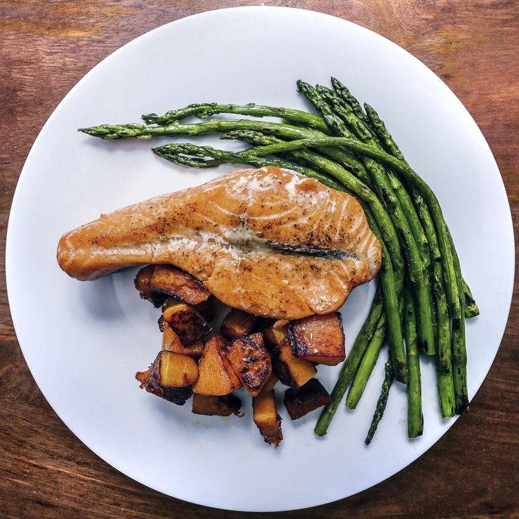 Salmon Steak — Eat Well, travel well.