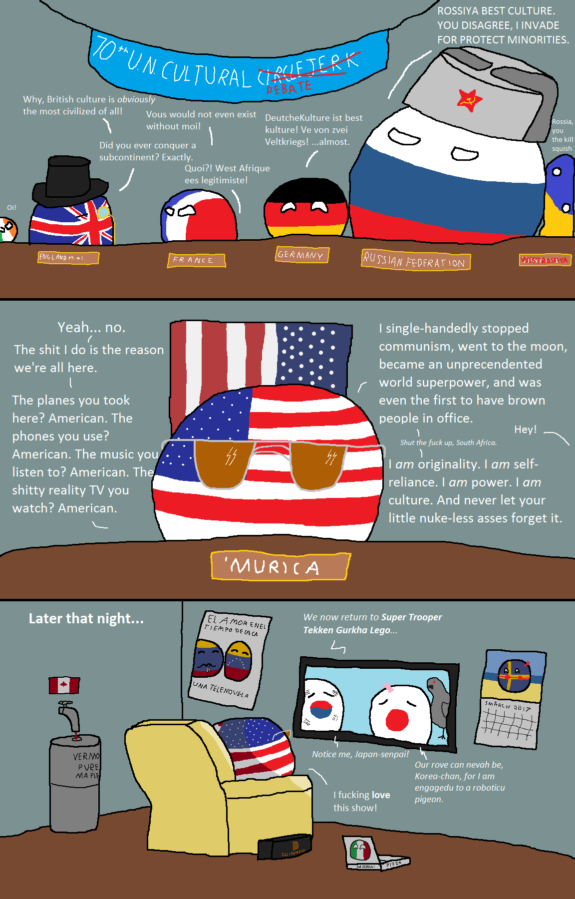The Best Polandball And Countryball Memes, Cartoons, And Comics -