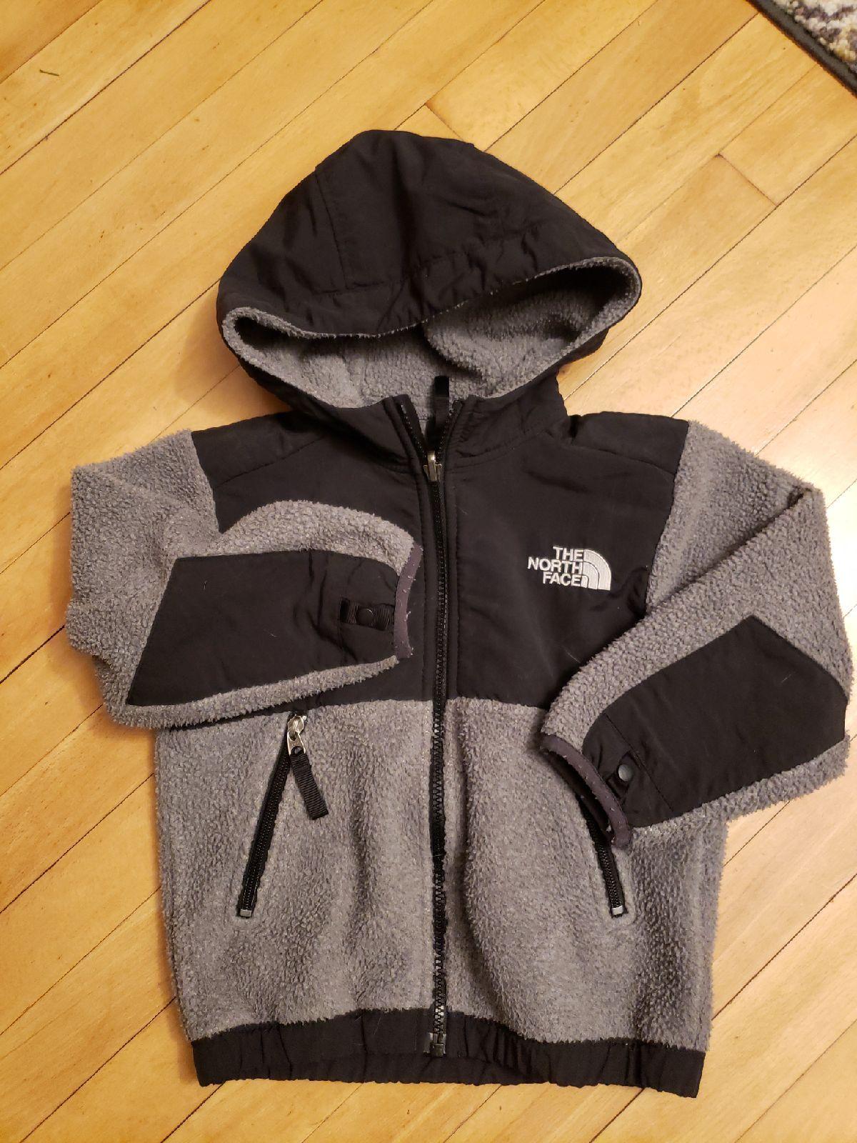 The North Face Fleece Size Xxs Grey Black The North Face North Face Jacket North Face Coat [ 1600 x 1200 Pixel ]