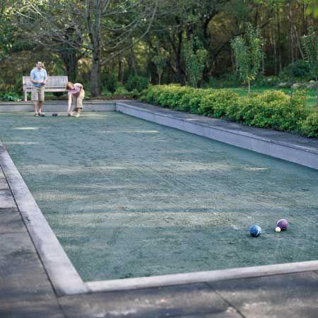 Idea Bocce ball  court in my yard