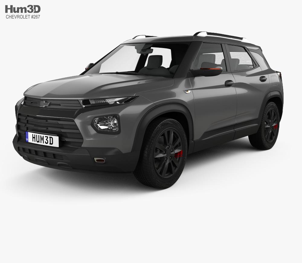 3D model of Chevrolet Trailblazer 2020 Chevrolet