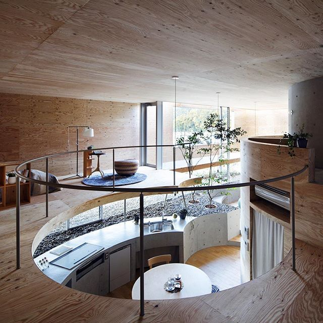 inside the pit house by uidarchitects six types of floor levels can be seen in the interior on kitchen organization japanese id=42293