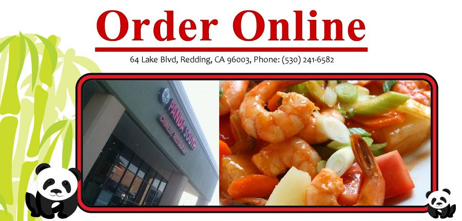 Panda South Chinese Restaurant Redding Ca 96003 Menu Chicken Chinese Lunch Specials Seafood Vegetar Chinese Restaurant Online Food Lunch Specials
