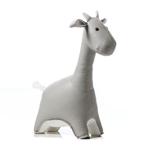 Grey Giraffe Animal Door Stop   From Adairs Kids