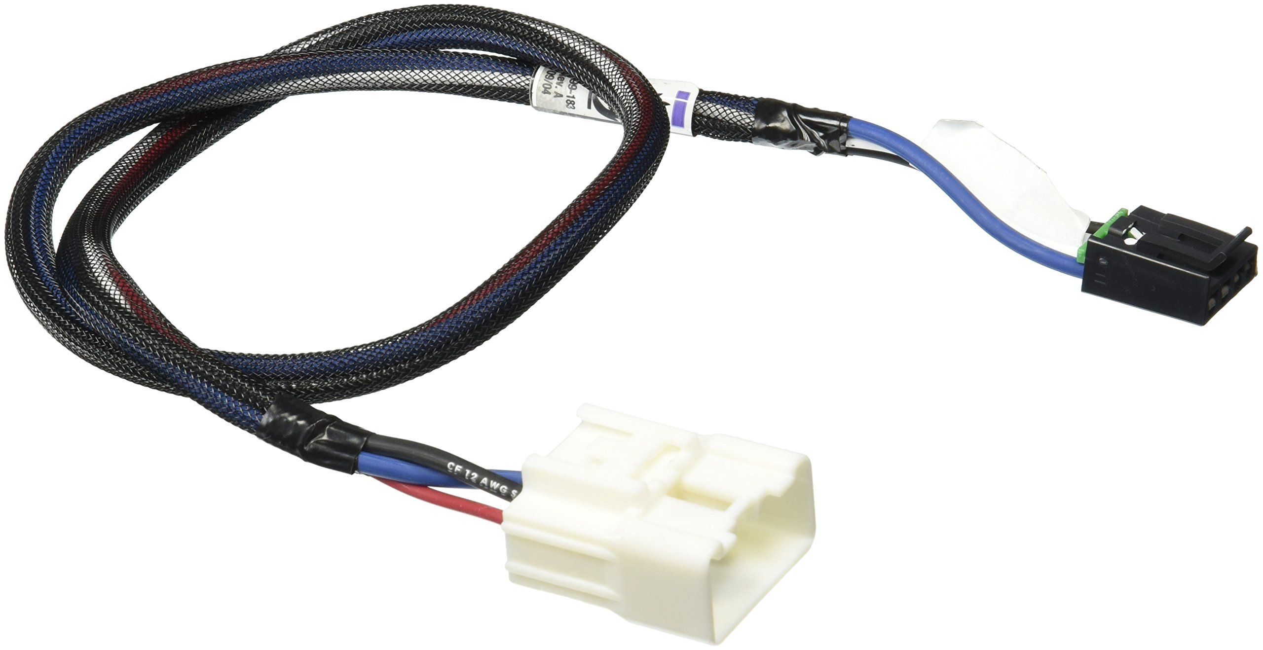 Tekonsha 3017-P Trailer Brake Control Wiring Harness - 2 Plugs, Toyota