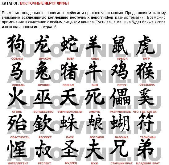 Иероглиф секс с переводом