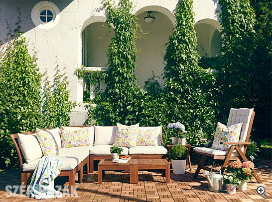 Gartensofa ikea  IKEA ÄPPLARÖ Gartensofa | Terrasse 1 | Pinterest | Backyard and ...