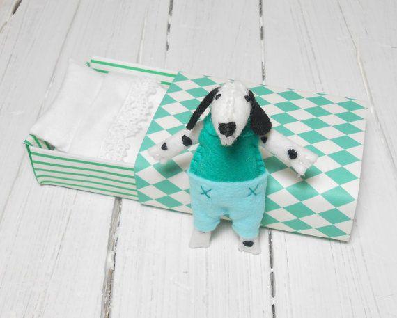 Il dalmata cane cagnolino cucciolo in feltro di atelierpompadour