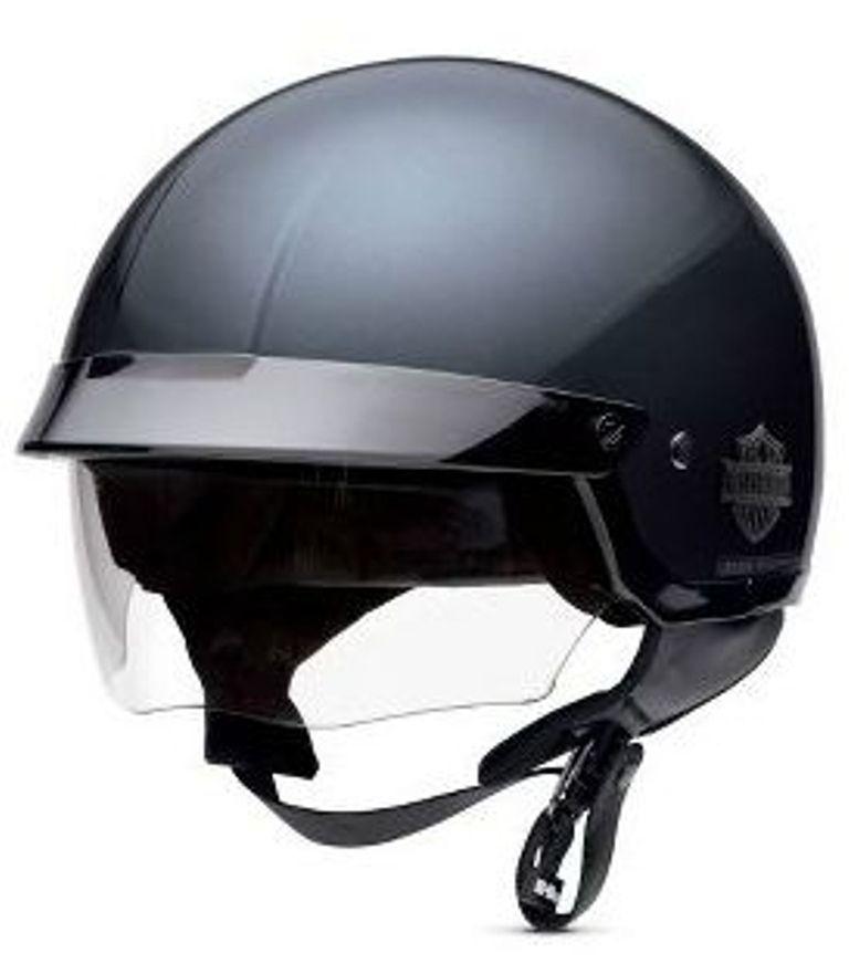 new half helmet with retractable sun shield 98208 13vm. Black Bedroom Furniture Sets. Home Design Ideas