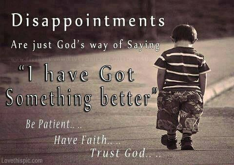 Disappointment Life Quotes Quotes Cute Religious Quote Life Quote