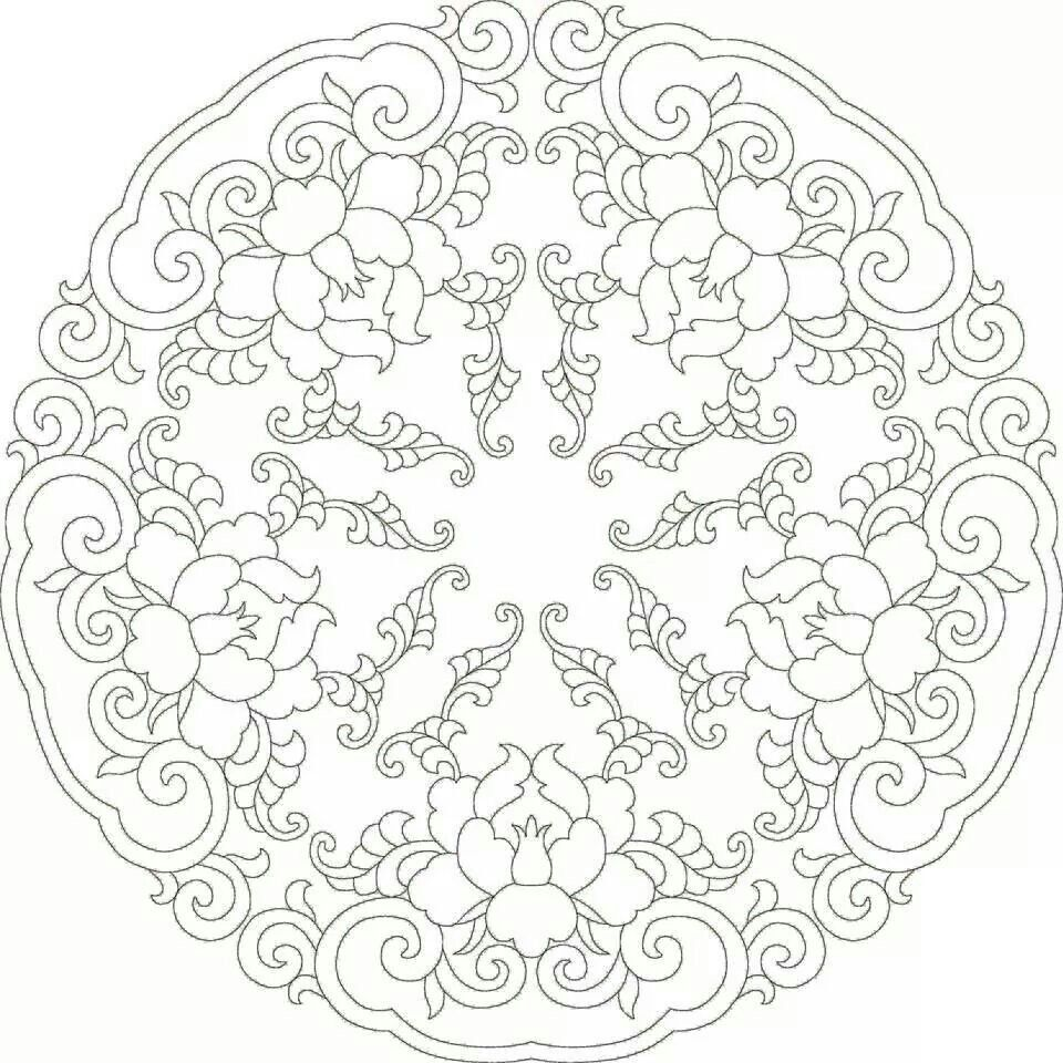 Pin By Mary Ann Moore On Cizimler Coloring Pages Quilting Designs Chinese Patterns