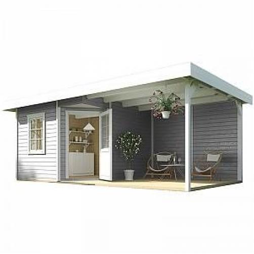 terrasse jardin abri auvent design