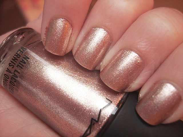Rose Gold Nail Polish Essie Makes One Too As Does China Glaze For The Bridesmaids