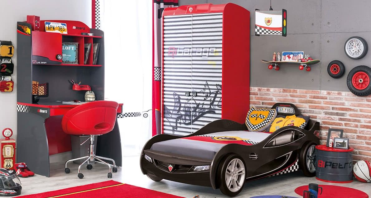 Cilek Coupe car bed at Car bed, Bed