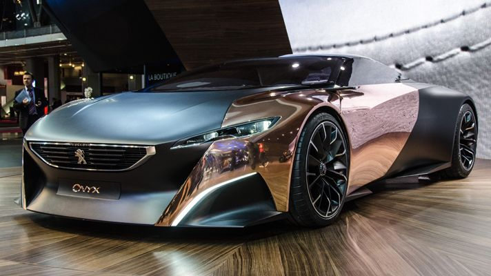 *The Club of Cars*: Peugeot Onyx Concept 2012 - 01