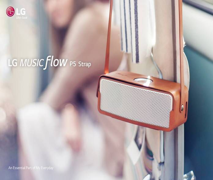 LG musicflow P5 strap bluetooth speaker # Speaker design #LG