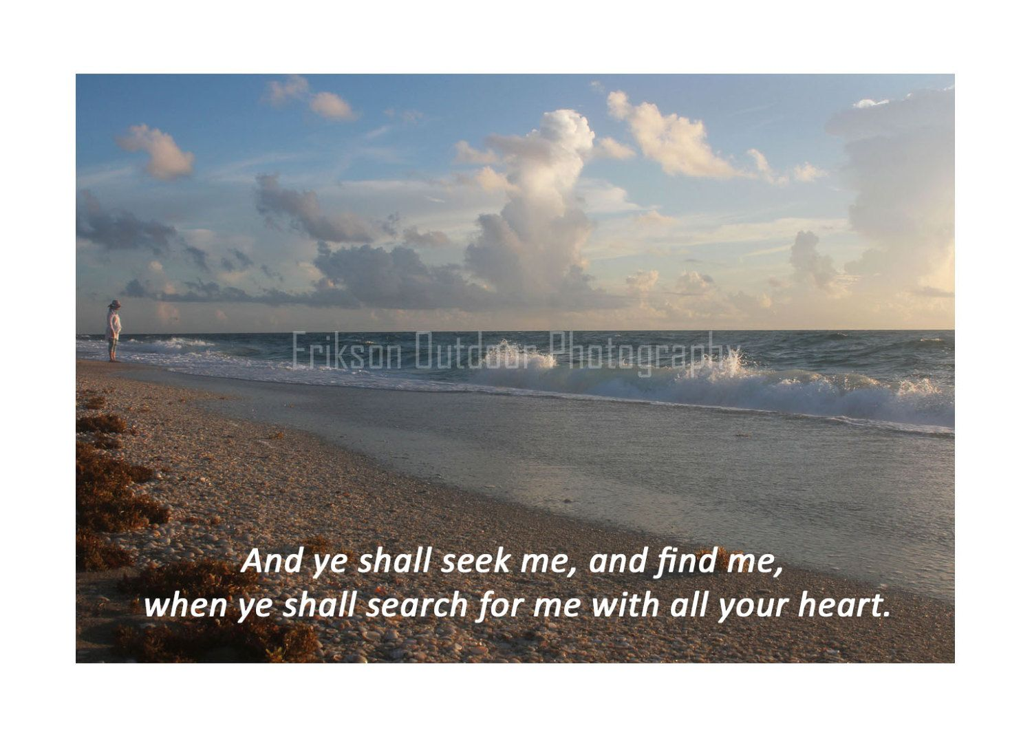 Scripture Greeting Cards Kjv With Bible Verse From Jeremiah 2913