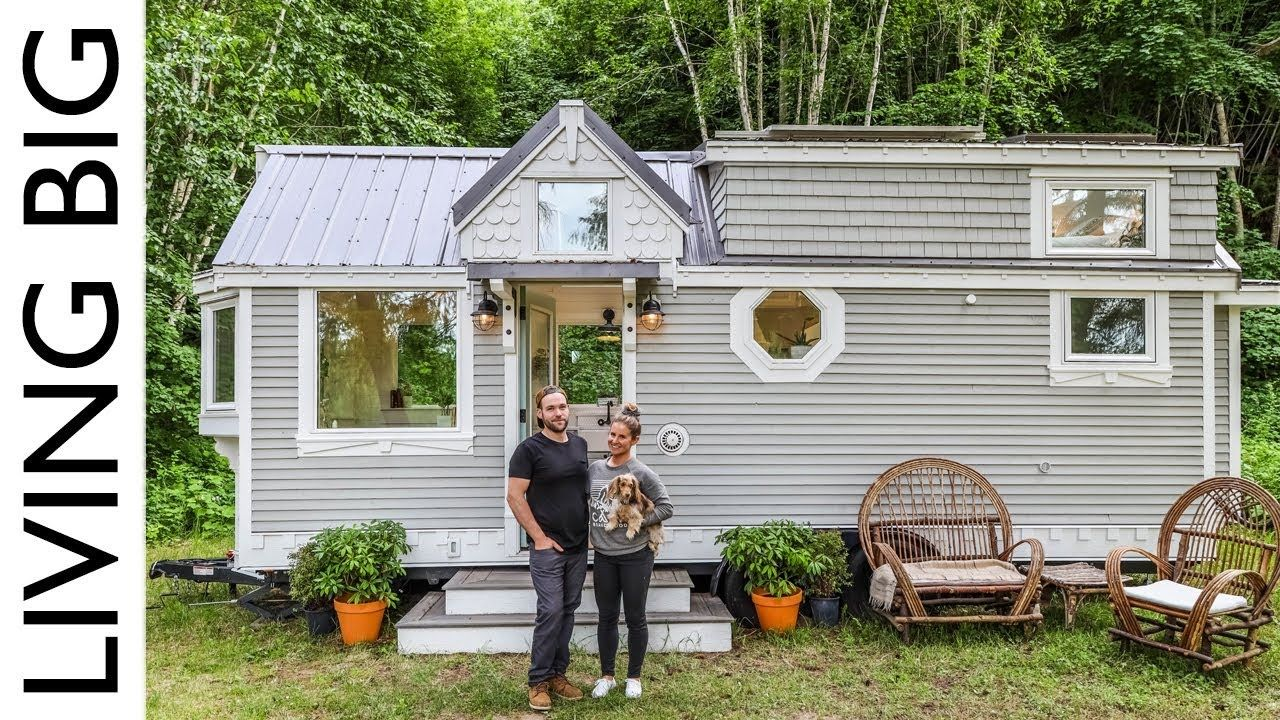 Couple Downsize Into Dream Off The Grid Tiny House Youtube With