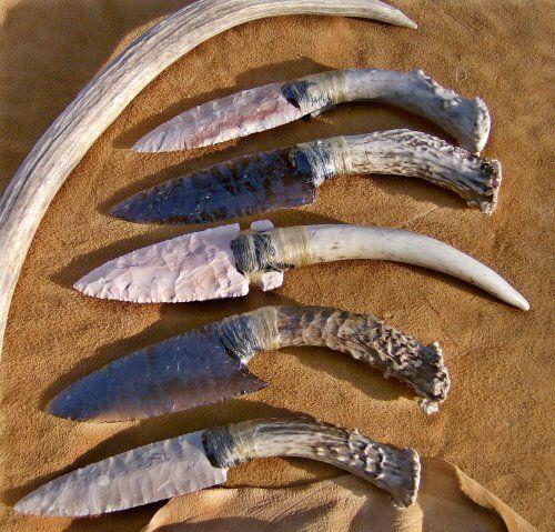 Indian Wilderness Survival Skills: Cuchillos Y Espadas, Cuchillos
