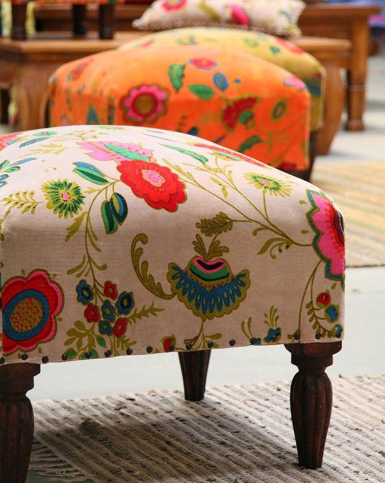 Blog de decoração Perfeita Ordem | bordados | Pinterest | Banquetas ...
