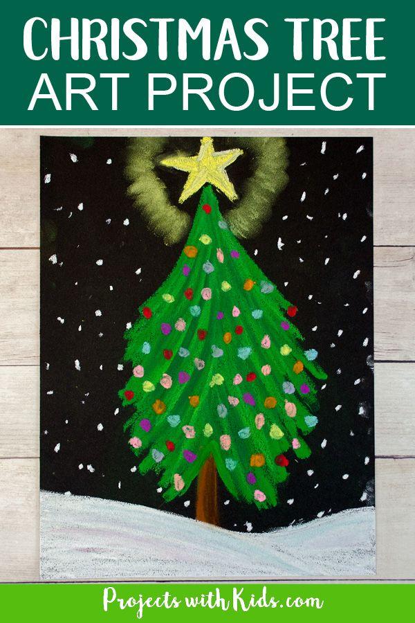 Fun Christmas Art Project Kids