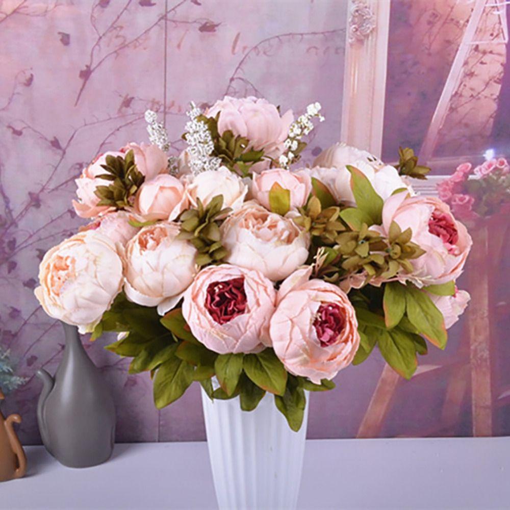 Artificial Decorative Silk Peony Flowers Price 14 98 Free Shipping Hashtag3 Artificial Peonies Silk Peonies Fake Flowers