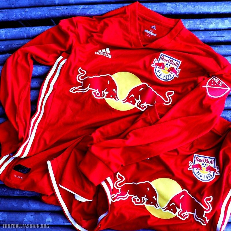 best service d46cb bbc17 New York Red Bulls 2018 adidas Red Jersey | NY RED BULLS ...