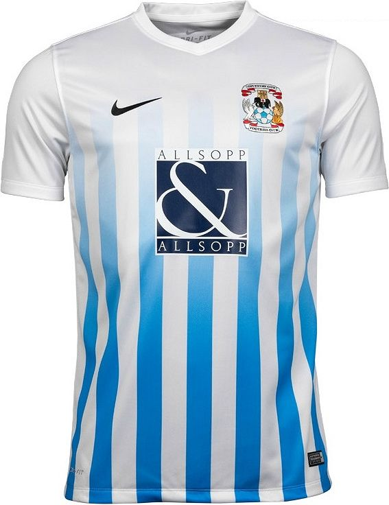 44be0776b2 Nike lança a nova camisa titular do Coventry City - Show de Camisas ...