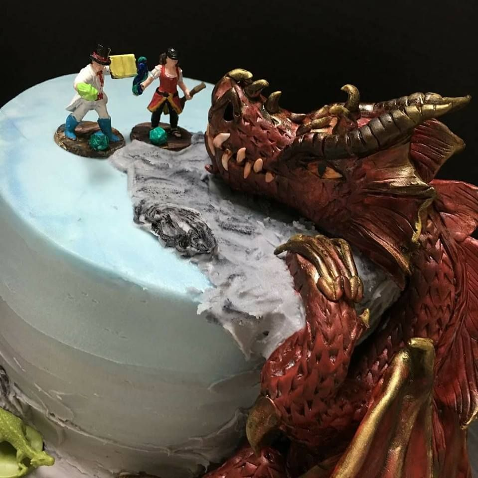 D D Wedding Cake Dungeons And Dragons Wedding Cake Nerd Wedding