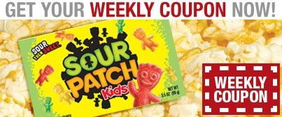 Cinemark Weekly Coupon 1 Off Candy
