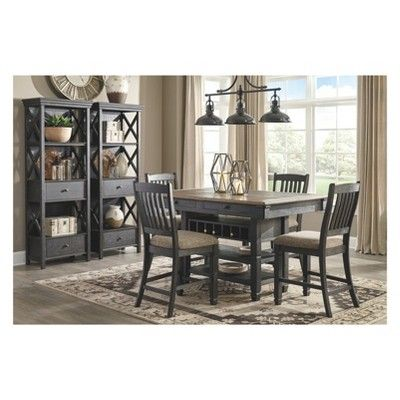 Tyler Creek Dining Table With Bench