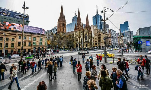 Busy City Life Melbourne 2013 With Images Melbourne City Life