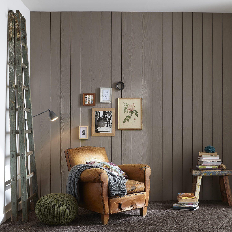 Destination:Mur   Lambris bois, Lambris, Déco chambre lambris
