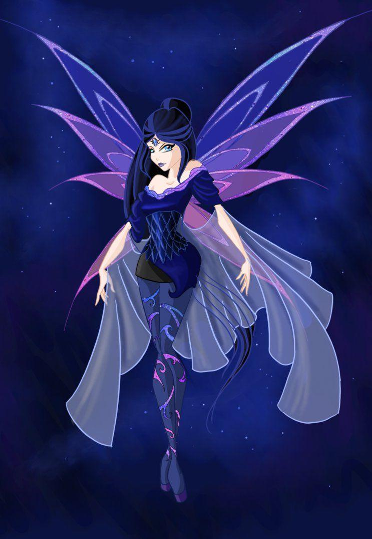 Nyx The Night Princess By Moryartix On Deviantart Winx