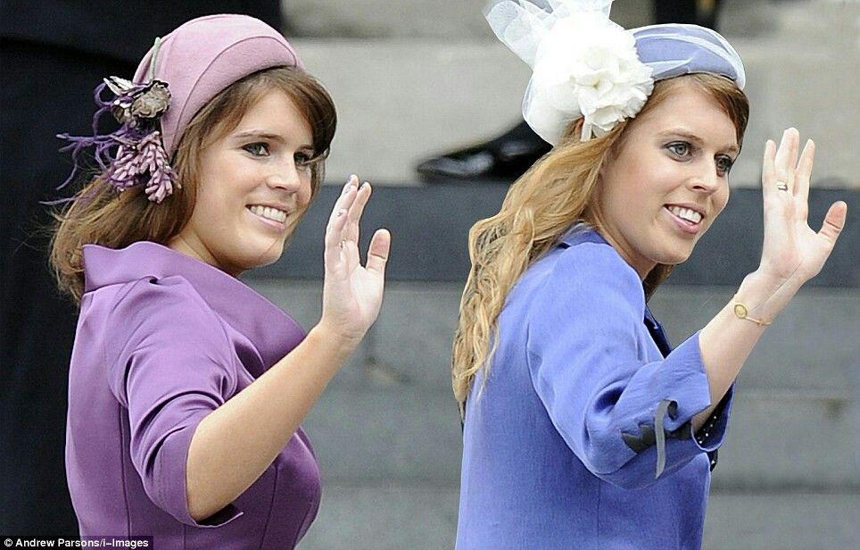 Princess Eugenie And Princess Beatrice Princess Eugenie And