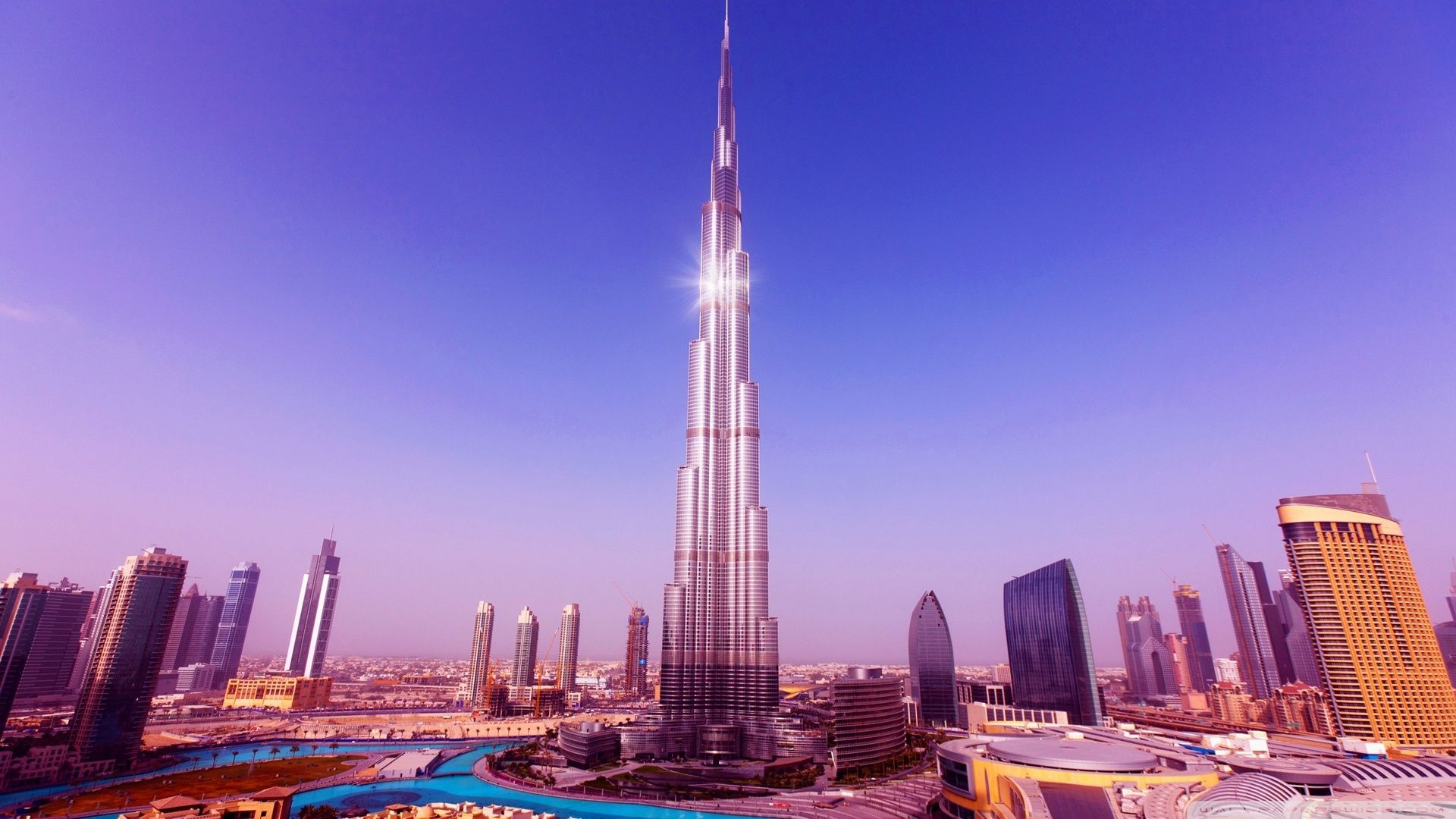 Worlds Tallest Tower Burj Khalifa Wallpaper 1920x1080 File Army Burj Khalifa Khalifa Dubai Dubai City