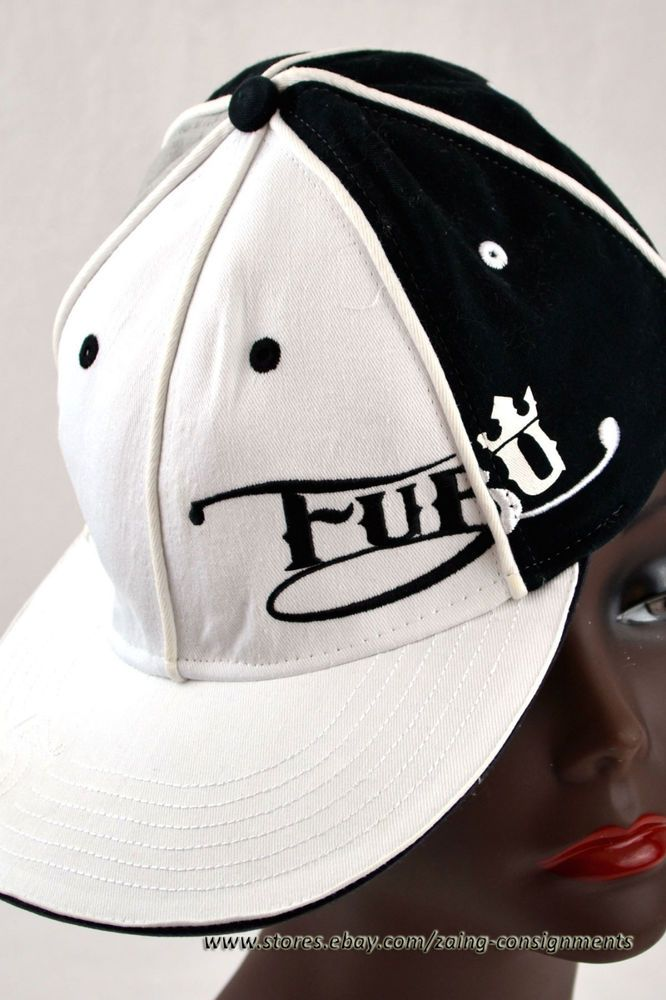 eb17df0a8b273 FUBU The Collection Black White Cap  FUBU  BaseballCap. Find this Pin and  more on Urban Wear ...