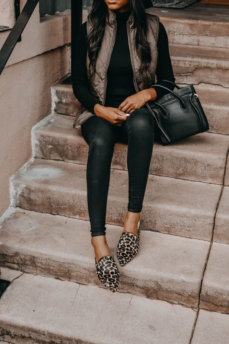 From Day to Night with Cole Haan #leopardshoesoutfit