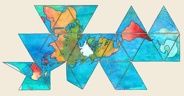 Buckminster Fuller: The book Poet of Geometry shows his colors