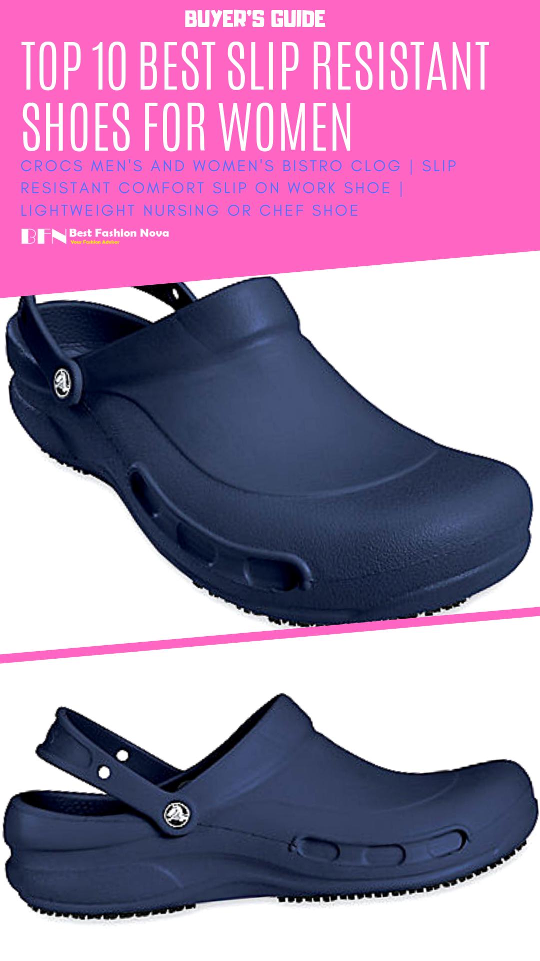 Best Slip Resistant Shoes for Women