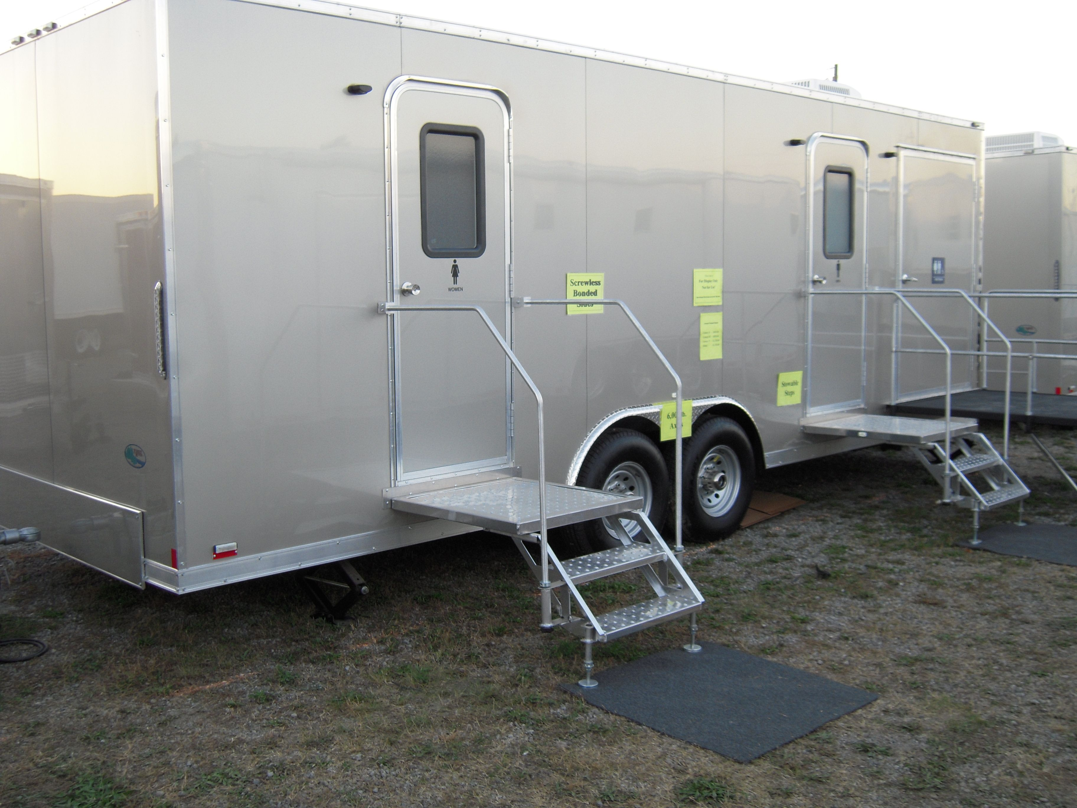 Portable Shower Trailer