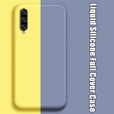 Liquid Silicone Phone Case Full Protective For Samsung Galaxy S10 A50