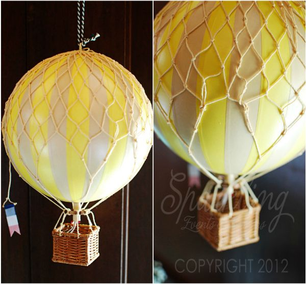 Hot Air Balloon Party Decorations   Category: hot air balloon party ideas