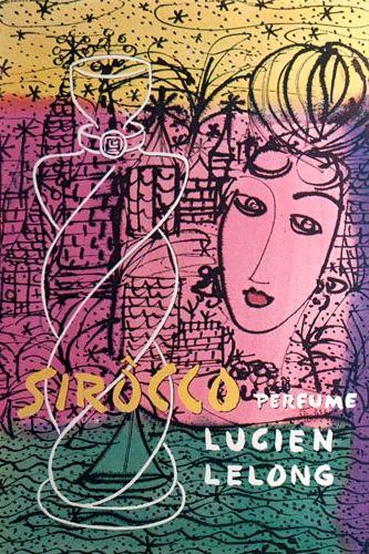 Lucien Lelong 'Sirocco' Perfume Ad