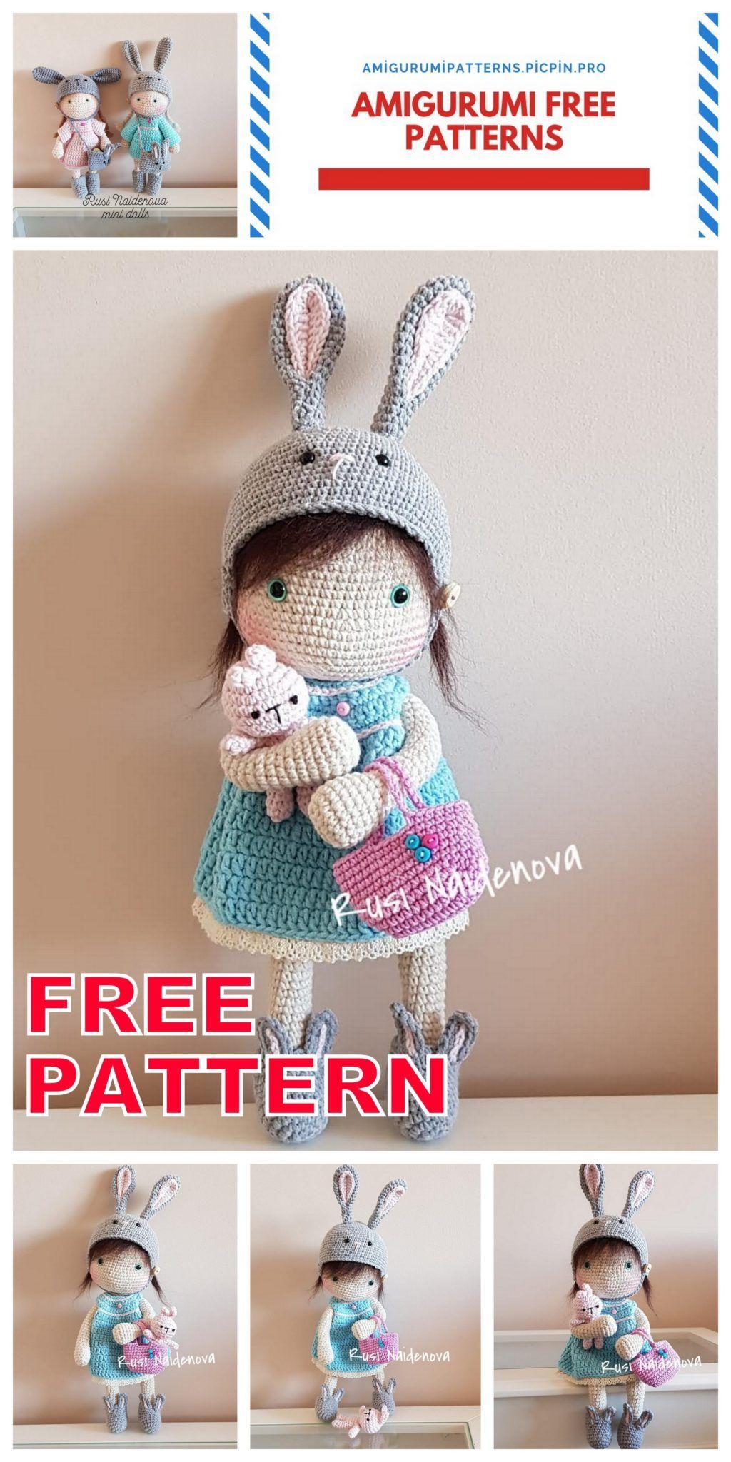 Amigurumi Tiny Bear Crochet Free Pattern - Crochet & Knitting | 2048x1024