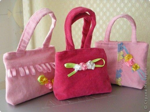Сделать сумку своими руками для детей
