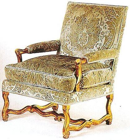 Fauteuil Armchair Louis XIV Les Maîtresébénistes époque Style - Fauteuil louis xiv