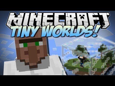 Minecraft | TINY WORLDS & GIANT MOBS! (Little Blocks
